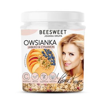 Beesweet – Owsianka Jabłko & Cynamon (60 g)