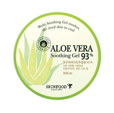 Skinfood – Aloe Vera 93% Soothing Gel żel aloesowy (300 ml)