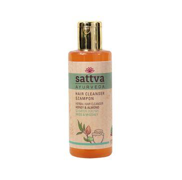 Sattva Hair Cleanser szampon ziołowy Honey & Almond 210ml