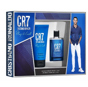 Cristiano Ronaldo CR7 Play it Cool zestaw woda toaletowa spray 30ml + żel pod prysznic 150ml