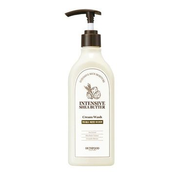 Skinfood – Intensive Shea Butter Cream Wash żel pod prysznic z masłem shea i owsem (335 ml)