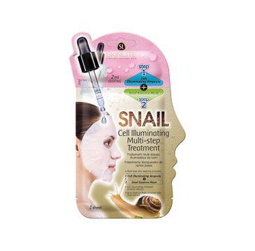 Skinlite Snail Cell Illuminating Multi-Step Treatment – dwuetapowy zabieg rozświetlający (20 ml)