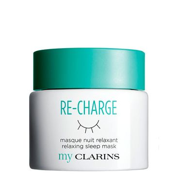 Clarins Re-Charge Relaxing Sleep Mask – relaksująca maska na noc (50 ml)