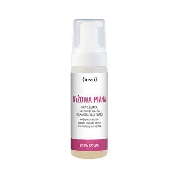 Iossi – Ryżowa Piana nawilżająca delikatna pianka do mycia twarzy (150 ml)