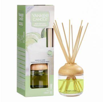 Yankee Candle Reed Diffuser pałeczki zapachowe z dyfuzorem Vanilla Lime 120ml