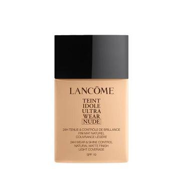 Lancome Teint Idole Ultra Wear Nude – lekki podkład matujący do twarzy 025 Beige Lin (40 ml)