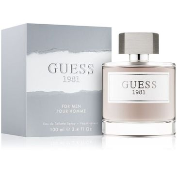 Guess – 1981 for Men woda toaletowa spray (100 ml)