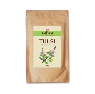 Sattva Powder zioła w proszku do włosów Tulsi 100g