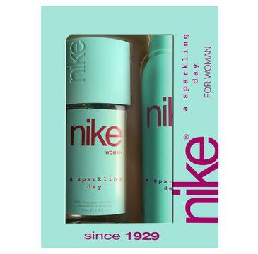 Nike – Zestaw prezentowy A Sparkling Day for woman dezodorant w szkle 75ml+dezodorant spray 200ml (1 szt.)