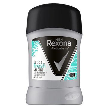 Rexona Men – Stay Fresh Marine Anti-Perspirant 48h antyperspirant sztyft (50 ml)