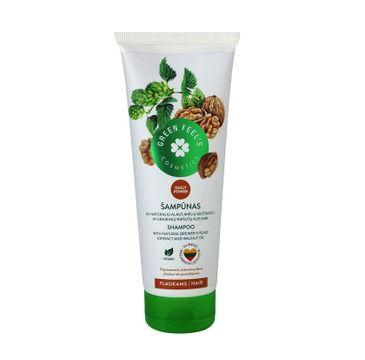 Green Feel's – Hair Shampoo Natural odżywczy szampon do włosów z ekstraktem z orzecha włoskiego (250 ml)