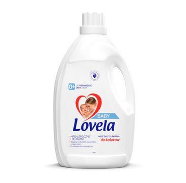 Lovela – Baby hipoalergiczne mleczko do prania ubranek niemowlęcych i dziecięcych do kolorów (2.9 l)