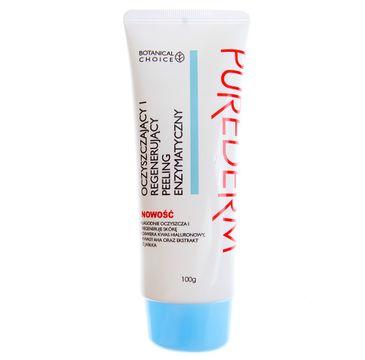 Purederm – Oczyszczający i regenerujący peeling enzymatyczny (100 g)