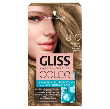 Gliss – Color (krem koloryzujący nr 8-0 Naturalny Blond 1 op.)