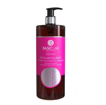 BasicLab Micellis (płyn micelarny do skóry naczynkowej i wrażliwej 500 ml)