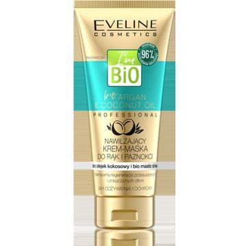 Eveline Argan & Coconut Oil – nawilżający krem-maska do rąk i paznokci (100 ml)