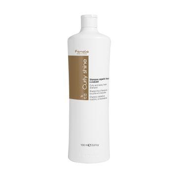 Fanola Curly Shine Shampoo – szampon do włosów kręconych (1000 ml)