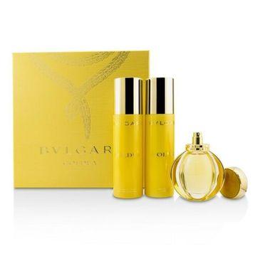 Bvlgari Goldea – zestaw woda perfumowana spray (50 ml) + balsam do ciała (200 ml) + żel pod prysznic (200 ml)