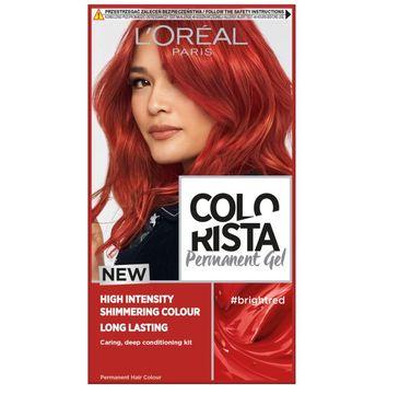 L'Oreal – Paris Colorista Permanent Gel trwała farba do włosów #brightred (1 szt.)