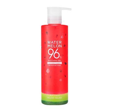 HOLIKA HOLIKA – Watermelon 96% Soothing Gel nawilżający żel z ekstraktem z arbuza (390 ml)