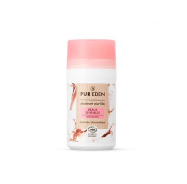 Pur Eden – Naturalny dezodorant w kulce dla kobiet Sensitive (50 ml)