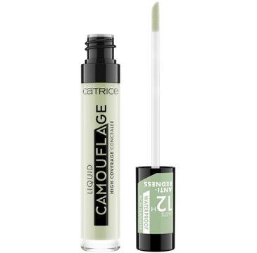 Catrice – Liquid Camouflage High Coverage Concealer korektor w płynie 200 Anti-Red( 5 ml)