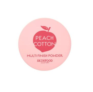 Skinfood – Peach Cotton Multi Finish Powder transparentny puder sypki do twarzy z ekstraktem z brzoskwini (15 g)