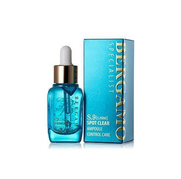 Bergamo S.9 Spot Clear Ampoule Control Care – serum do twarzy z kwasem hialuronowym (30 ml)