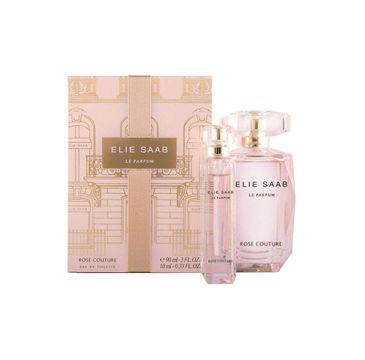 Elie Saab Le Parfum Rose Couture zestaw woda toaletowa spray 90ml + miniatura wody toaletowej spray 10ml