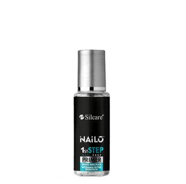 Silcare – Nailo 1st Step Nail Care Primer płyn wytrawiający naturalną płytkę paznokcia (9 ml)