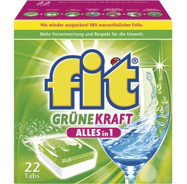 Fit – Grune Kraft Alles in 1 tabletki do zmywarki (22 szt.)