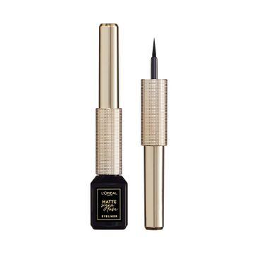 L'Oreal Paris Matte Signature – eyeliner matowy w płynie 01 Black (1 szt.)