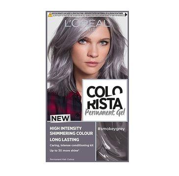 L'Oreal Paris Colorista Premament Gel – farba do włosów #smokeygrey (1 szt.)