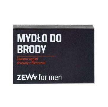 Zew – For Men Mydło do brody z węglem drzewnym z Bieszczad (85 ml)