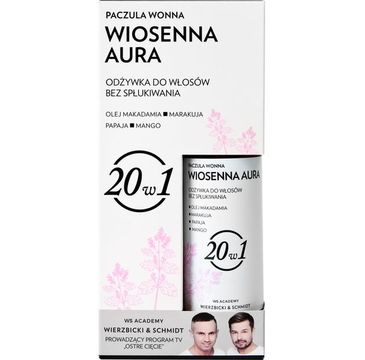 WS Academy Odżywka do włosów bez spłukiwania 20w1 Wiosenna Aura & Paczula Wonna 150g