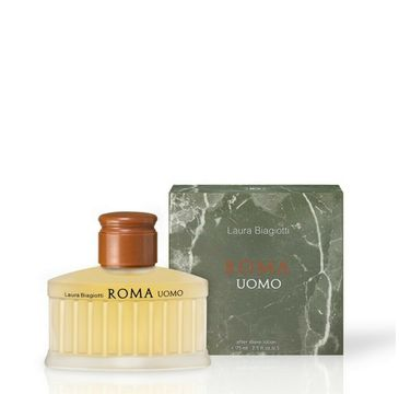 Laura Biagiotti Roma Uomo – balsam po goleniu (75 ml)