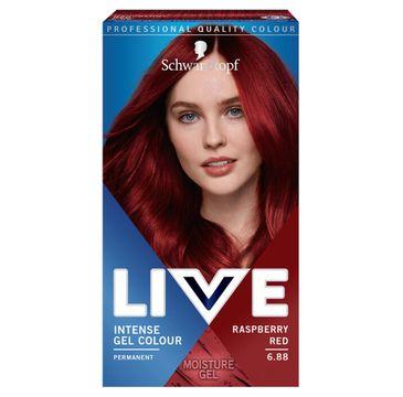 Schwarzkopf – Live Intense Gel Colour koloryzacja do włosów w żelu 6.88 Raspberry Red (1 szt.)