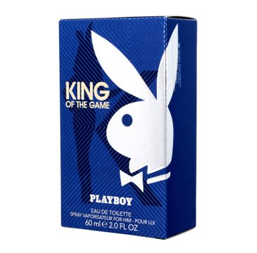 Playboy King of the Game – woda toaletowa (60 ml)