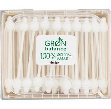 Gron Balance – Patyczki higieniczne do uszu dla niemowląt (60 szt.)