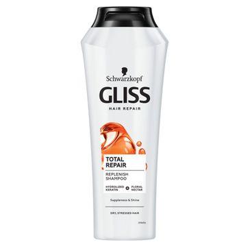 Gliss – Total Repair Shampoo głęboko regenerujący szampon do włosów (250 ml)