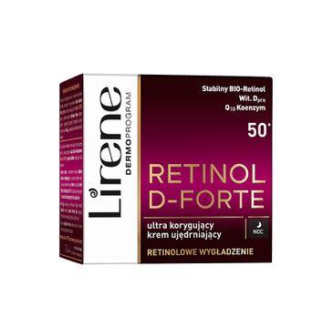 Lirene Retinol D-Forte 50+ – ultrakorygujący krem ujędrniający na noc (50 ml)