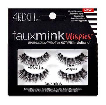 Ardell – Faux Mink Demi Wispies 2 pary sztucznych rzęs Black (1 op.)