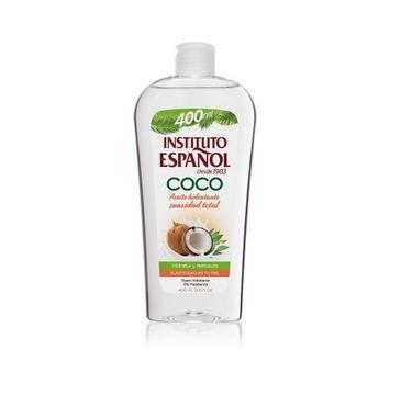 Instituto Espanol Coco – kokosowy olejek do ciała nawilżający (400 ml)