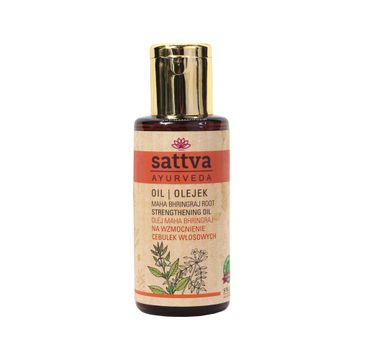 Sattva Ayurveda Maha Bhringraj Strengthening Oil olejek na wzmocnienie cebulek włosowych 100ml