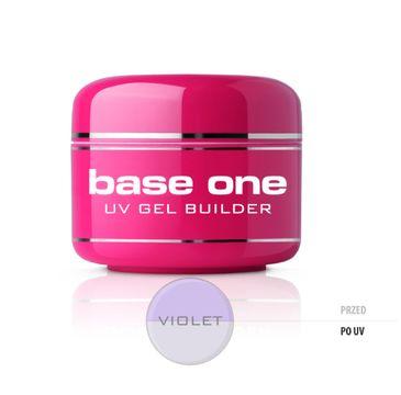 Silcare – Gel Base One Violet żel budujący do paznokci (30 g)