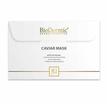 Biodermic – Caviar Extract Maska na twarz na tkaninie z ekstraktem z kawioru (25 ml)