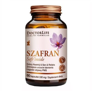 Doctor Life Szafran Safr'inside suplement diety 60 kapsułek