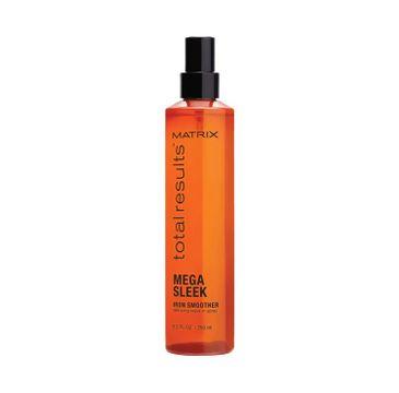 Matrix Total Results Mega Sleek Iron Smoother Spray – spray chroniący włosy przed wysoką temperaturą (250 ml)