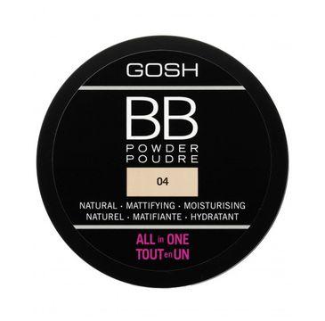 Gosh BB Powder – puder prasowany do twarzy 04 Beige (6.5 g)