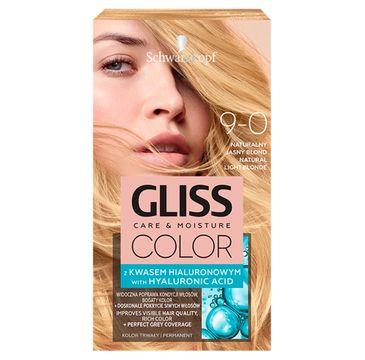 Gliss – Color (krem koloryzujący nr 9-0 Naturalny Jasny Blond 1 op.)